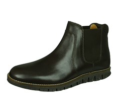 Sledgers Howard Mens Leather Chelsea Boots - Brown