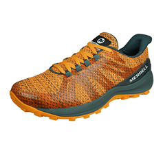 Merrell Momentous Womens Trail Running Trainers / Shoes - Orange