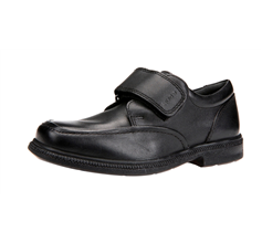 Geox J Agata D Boys Leather School Shoes / Lace up Brogues - Black