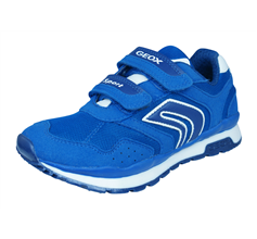 Geox J Pavel A Boys Trainers / Shoes - Royal Blue