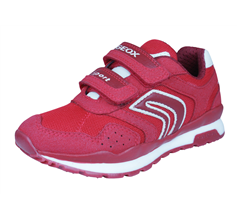 Geox J Pavel A Boys Trainers / Shoes - Red
