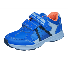 Geox J Top Fly B.B Boys Trainers / Shoes - Royal Blue