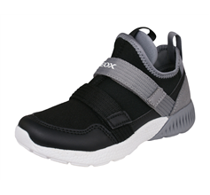 Geox J Sveth B.C Boys Casual Trainers / Shoes - Black