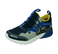 Geox Boys Trainers J Sveth B.A Casual Shoes - Navy