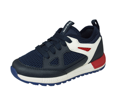 Geox J Alben B. D Boys Trainers / Shoes - Navy