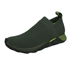 Merrell Range Laceless AC+ Mens Trail Running Trainers / Shoes - Olive