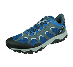 Merrell Fiery GTX Mens Trail Running Trainers / Shoes - Blue