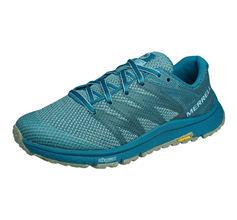 Merrell Bare Access XTR Sweeper Womens Trail Running Trainers / Shoes - Aqua Blue
