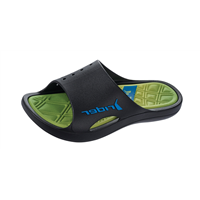 Rider Bay VI AD Slide Mens Flip Flops / Sandals - Lime