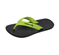 Rider Strike Mens Flip Flops / Sandals - Lime