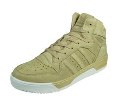 adidas Originals M Attitude Revive Womens Leather Trainers / Hi Tops - Beige