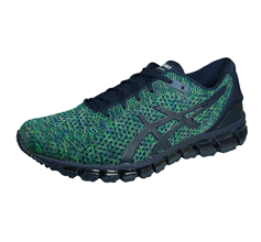 Asics Gel Quantum 360 Knit 2 Mens Running Trainers / Shoes - Blue & Green