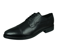 Geox U Gladwin B Mens Leather Shoes / Brogues - Black
