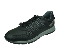 Geox U Delray A Mens Trainers / Sneakers - Black