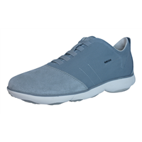 Geox U Nebula A Mens Slip On Trainers / Shoes - Stone