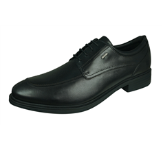 Geox U Loris NP ABX A Mens Smooth Leather Shoes / Brogues - Black