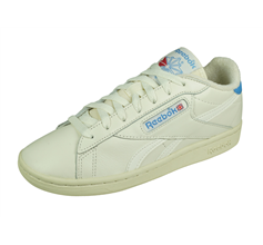 Reebok Classic NPC UK Vintage Womens Leather Trainers - Chalk White