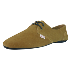 Penguin Fossil Mens Leather Suede Casual Shoes - Camel