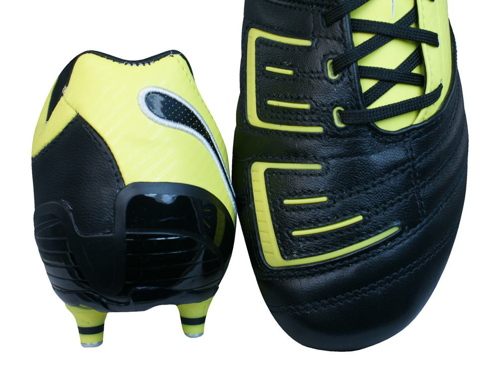 6817bb074f1e Puma Powercat 2.12 SG Rugby Mens Leather Rugby Boots - Black at ...