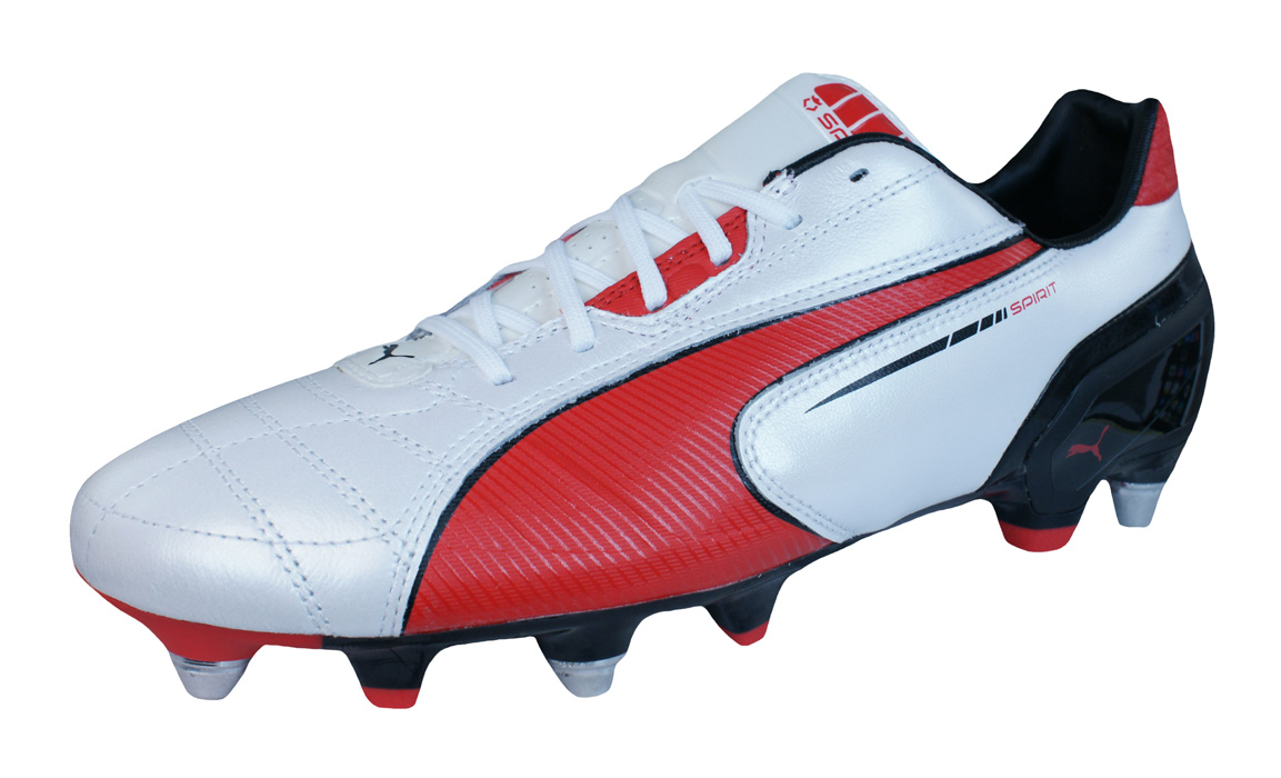 multi coloured puma boots