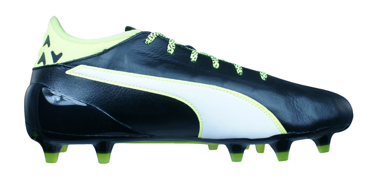 461f66ae3aa Puma evoTOUCH 2 FG Mens Leather Football Boots   Cleats - Black at ...