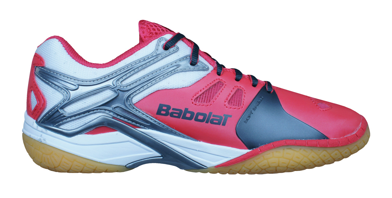 7c58b6e35a6 Babolat Shadow 2 Womens Badminton Trainers   Shoes - Pink at ...