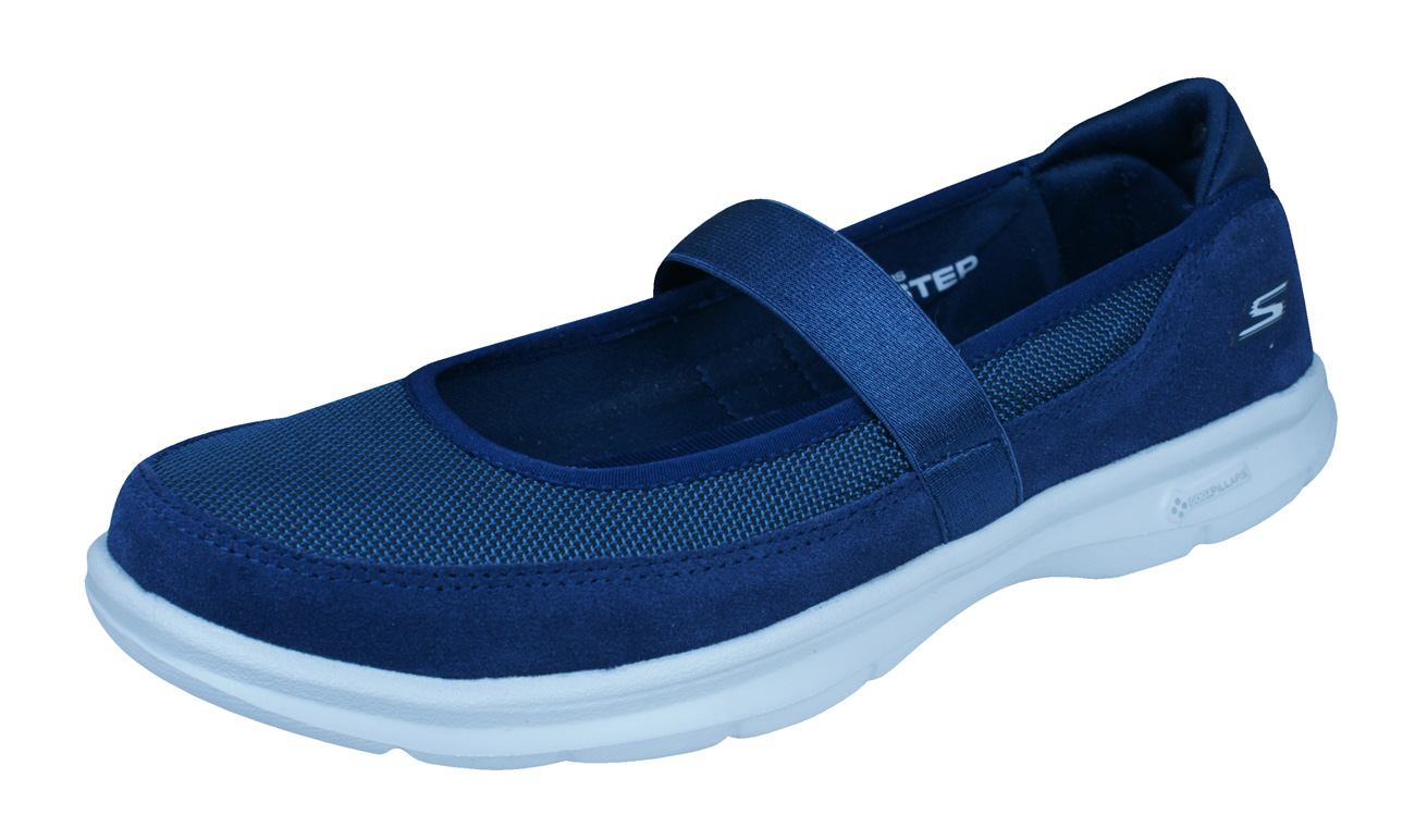 Skechers Go Step Snap Womens Walking Trainers Mary Janes