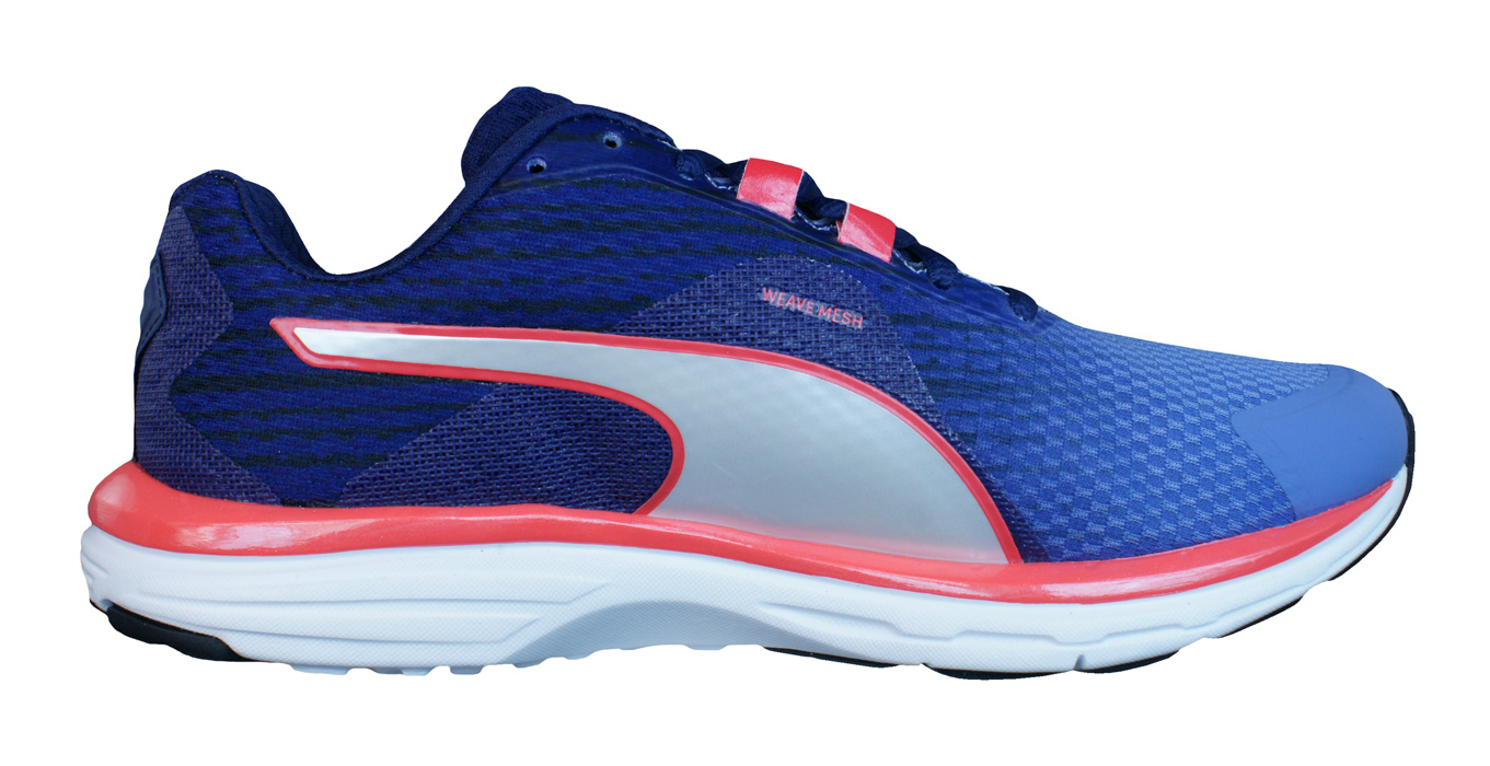 Puma Faas 500 v4 Womens Running Trainers / Shoes - Denimat