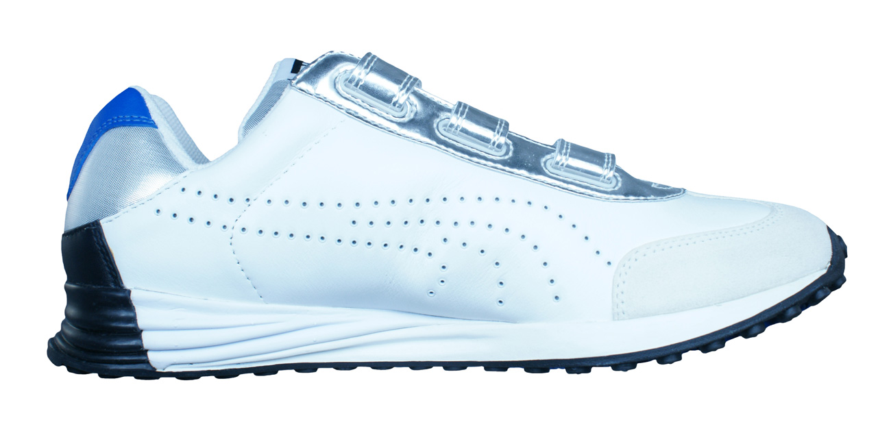 Puma Mihara Yasuhiro MY 43 Mens Leather Trainers   Shoes - White and Silver f9518fba1