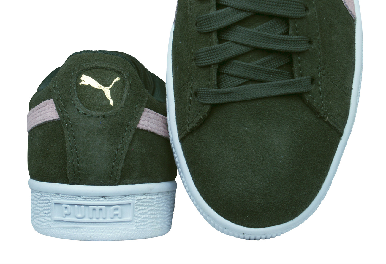 Puma Suede Classic Womens Trainers   Shoes - Dark Green at ... bbf5e2f93