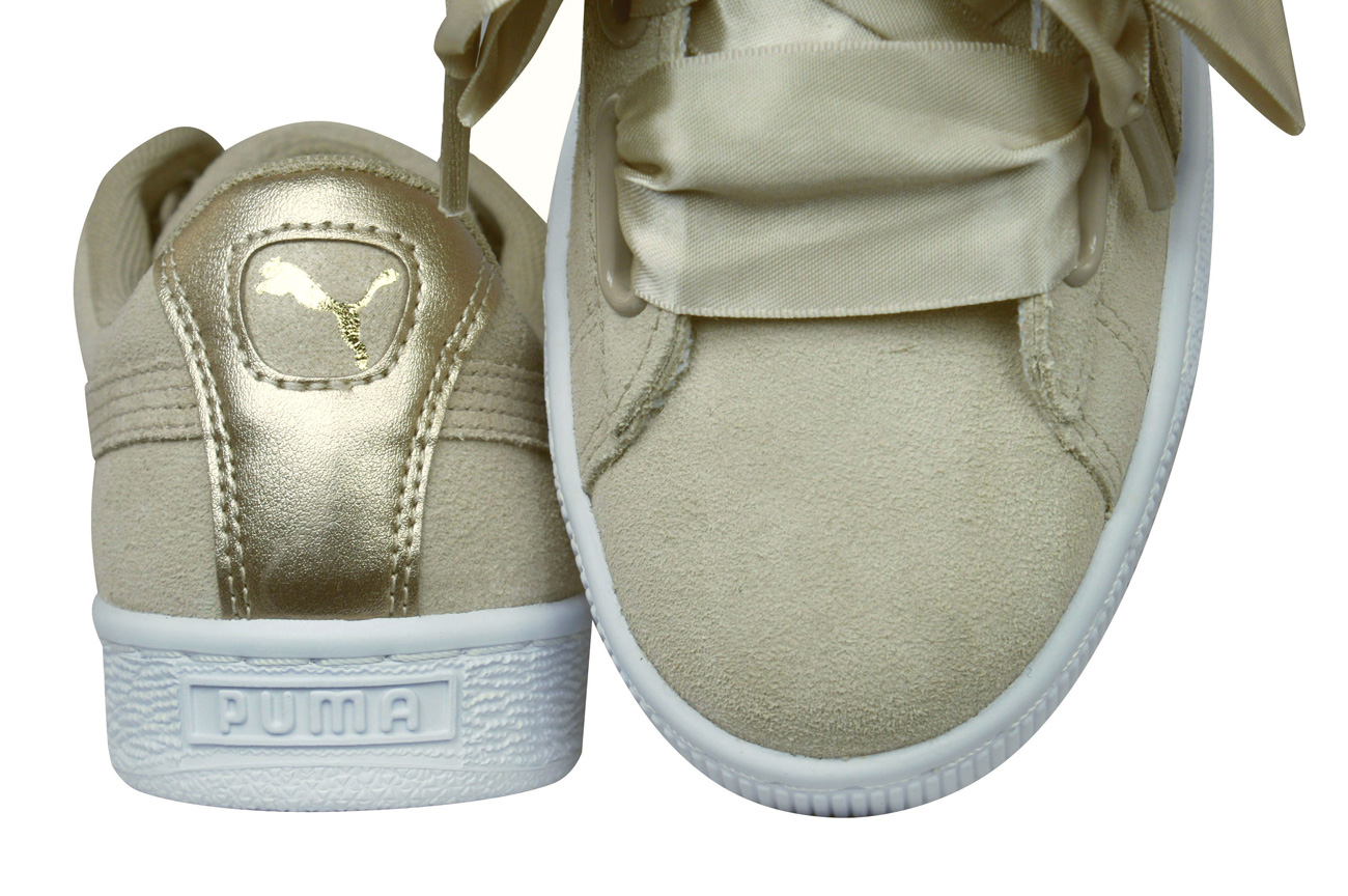 b55501821 Puma Suede Heart Safari Womens Trainers / Shoes - Beige at ...