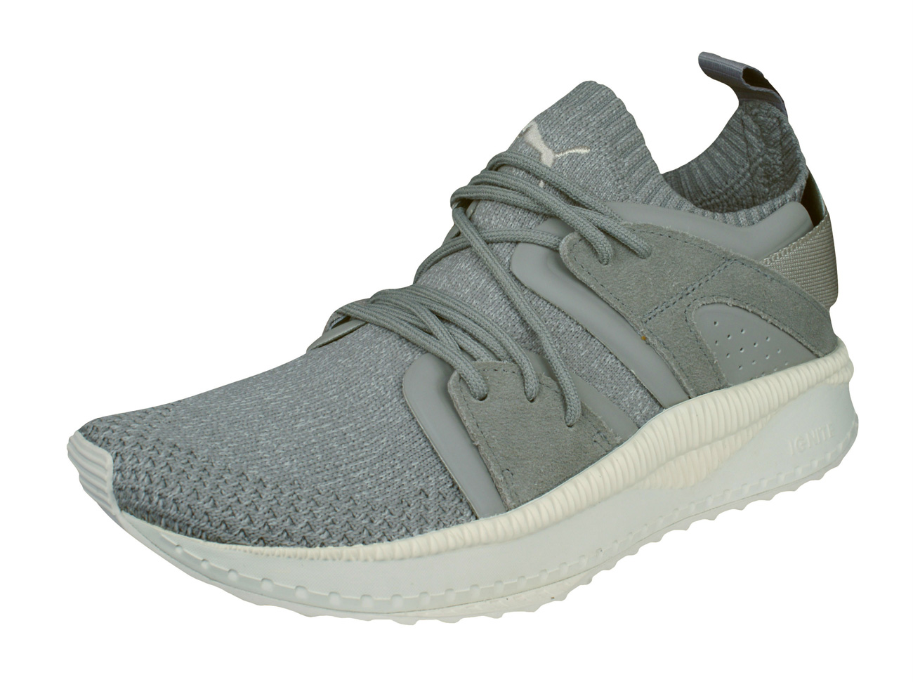 Mens Puma Trainers Tsugi Blaze evoKNIT Training Shoes - Grey at ... 64d55f840