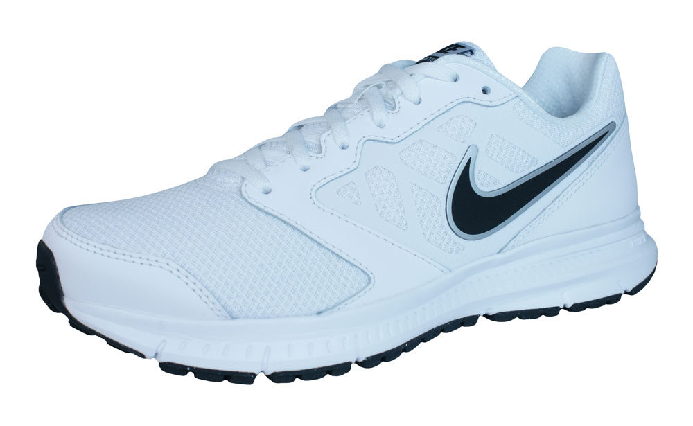 Nike Downshifter 6 Mens Running Trainers / Shoes - White