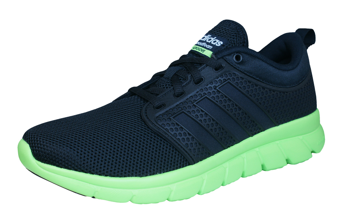 adidas Neo Cloudfoam Groove Mens Running Trainers / Shoes