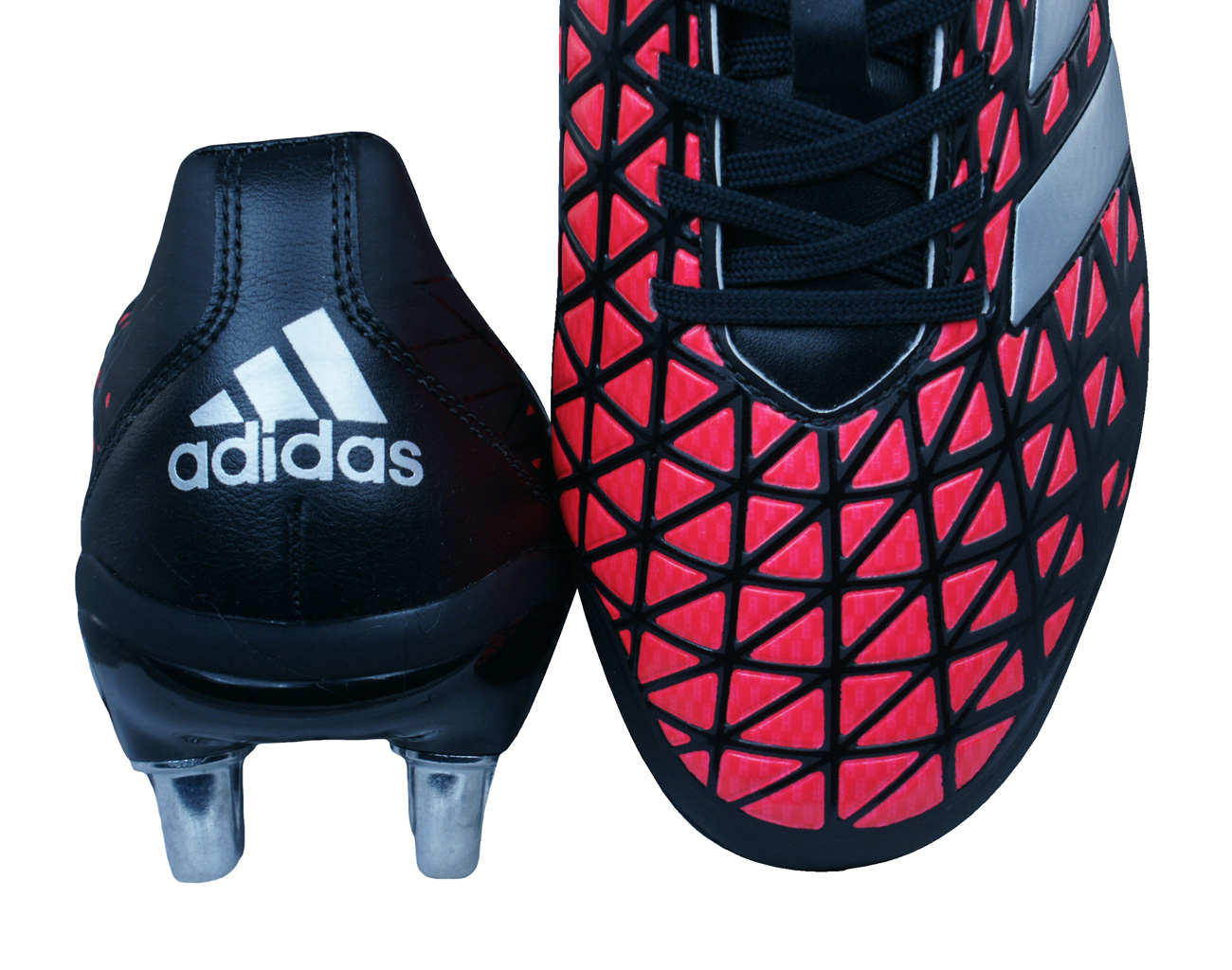 7dff82dedc2 adidas Kakari Elite SG Mens Rugby Boots - Black and Red at ...