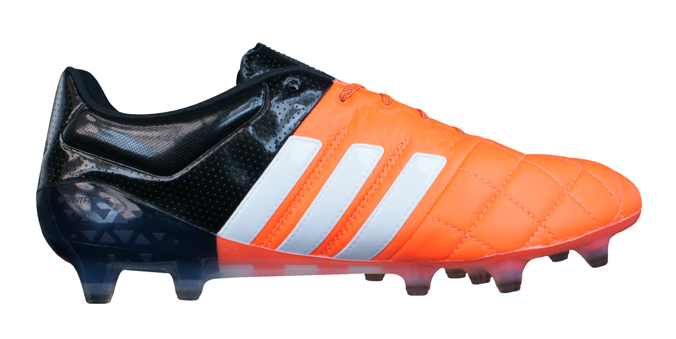 be82dd7cf9d92 adidas Ace 15.1 FG / AG Leather Pro Mens Football Boots / Cleats ...