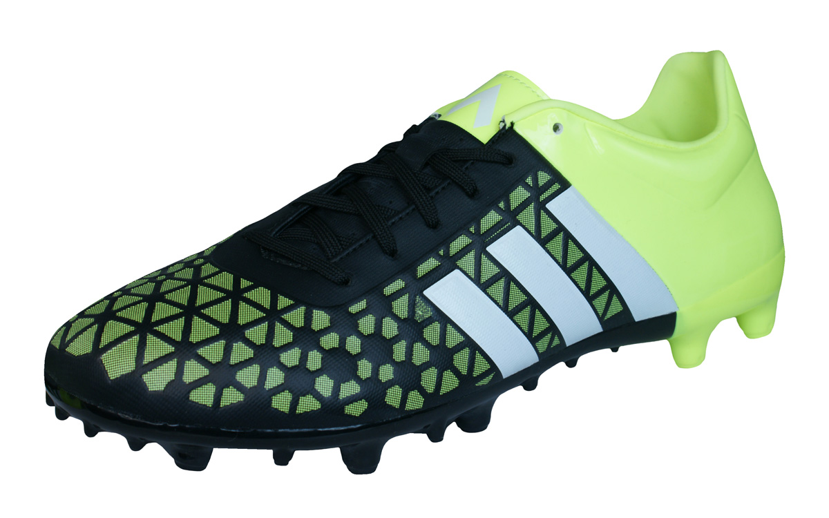 7cfe7c187e789 adidas Ace 15.3 FG   AG Mens Football Boots   Cleats - Yellow and Black