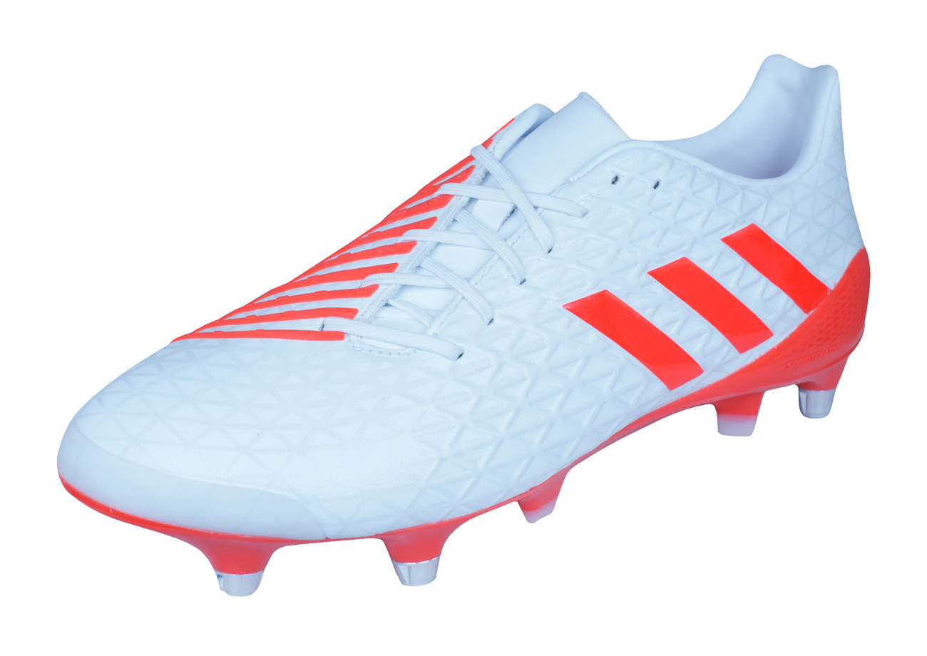 Adidas Predator Malice Sg Mens Rugby Boots White