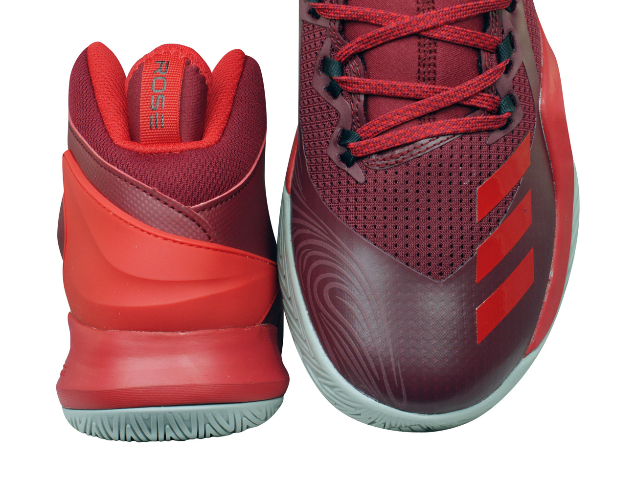 c6082060bf19 adidas D Rose Dominate IV Mens Basketball Trainers   Shoes - Red at ...