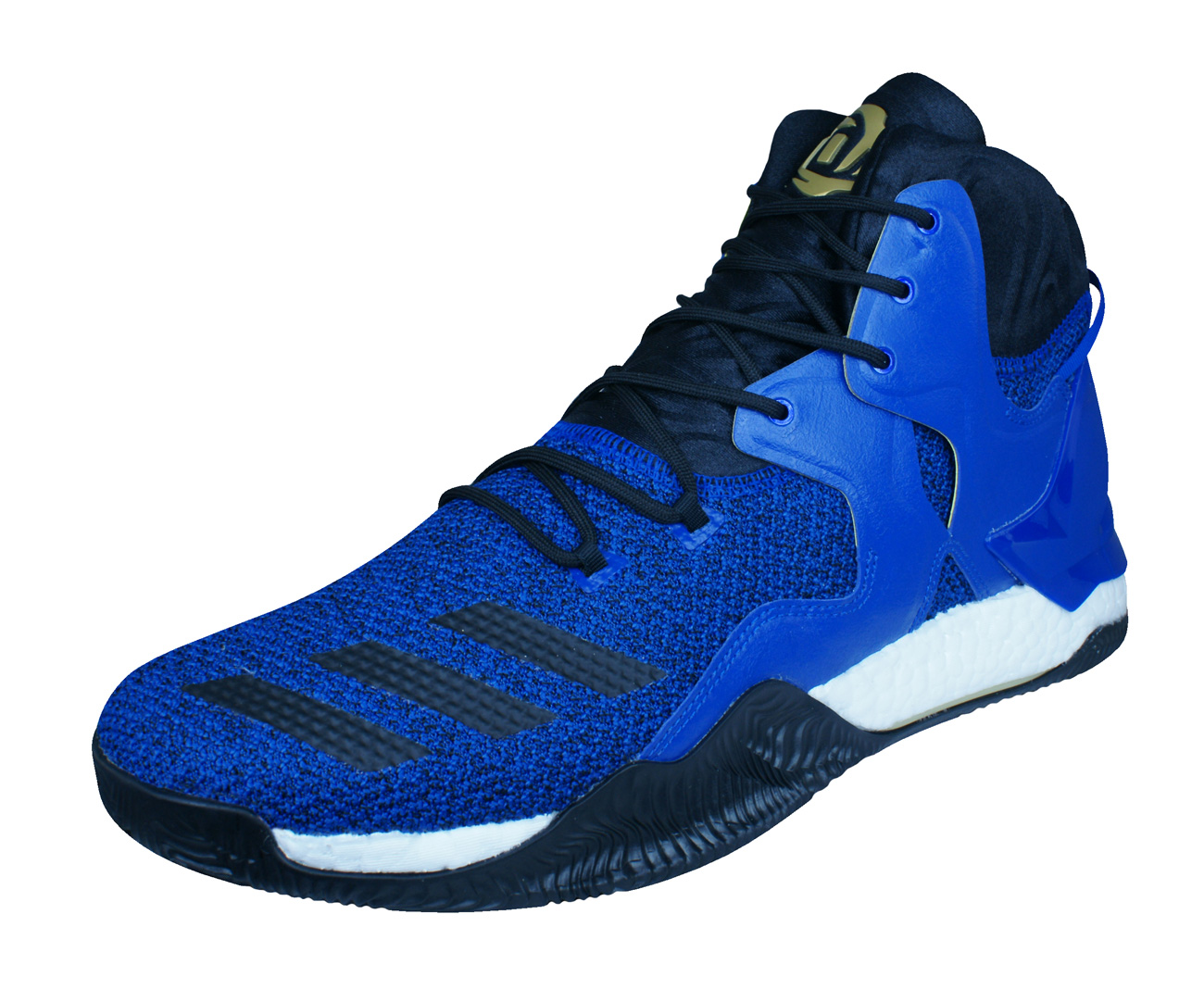 online store 26478 1cf40 Adidas D Rose 7 Mens Basketball Trainers Shoes Blue At