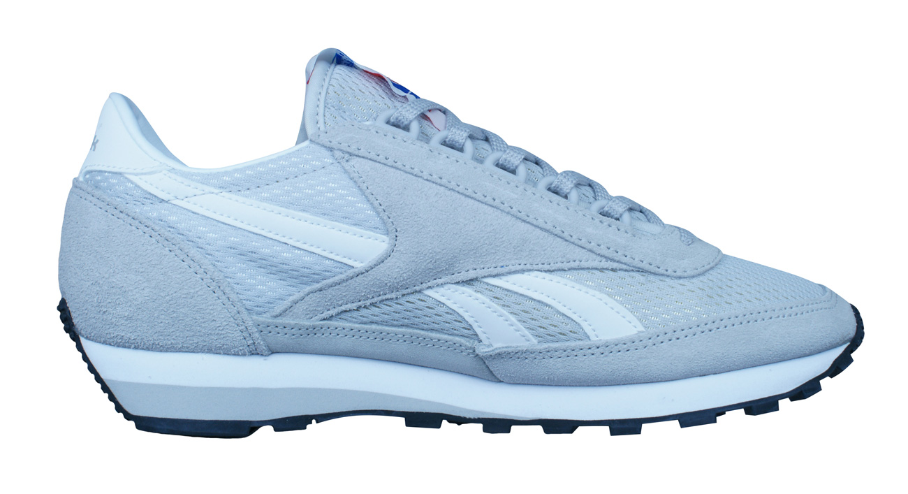 c2b1bef9301 Reebok Classic Aztec OG Varsity Womens Trainers   Shoes - Grey at ...