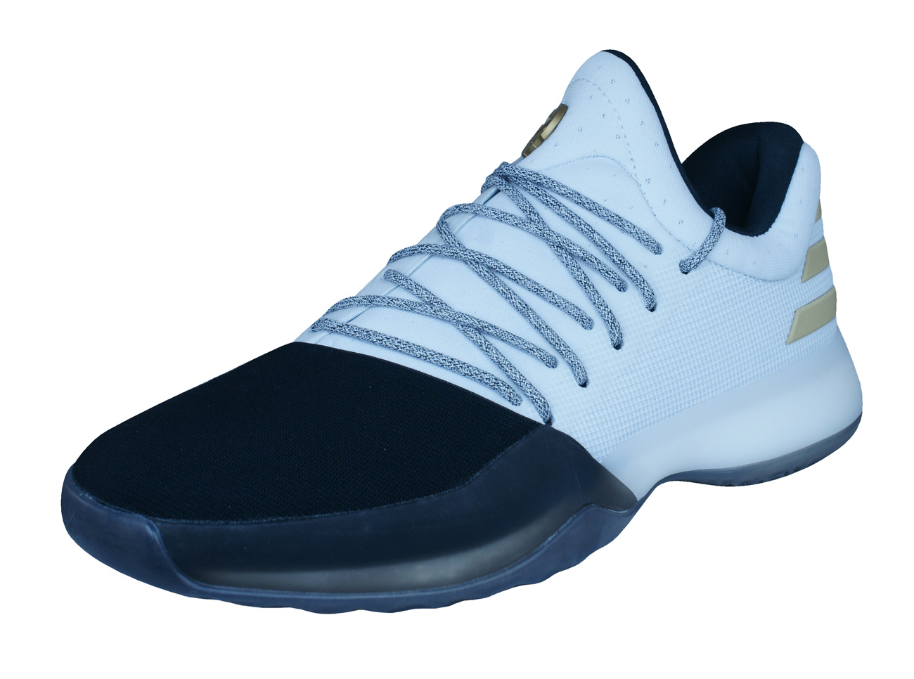57e2599ff80e98 adidas Harden Vol 1 Mens Basketball Trainers   Shoes - White at ...