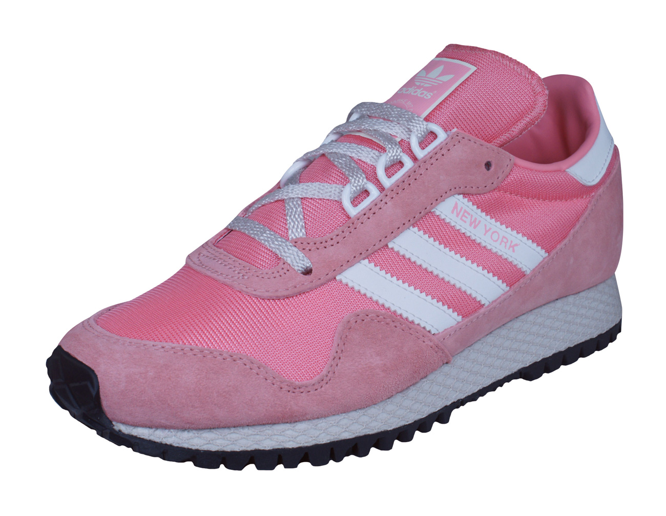 adidas Originals New York Mens Trainers Shoes Pink at