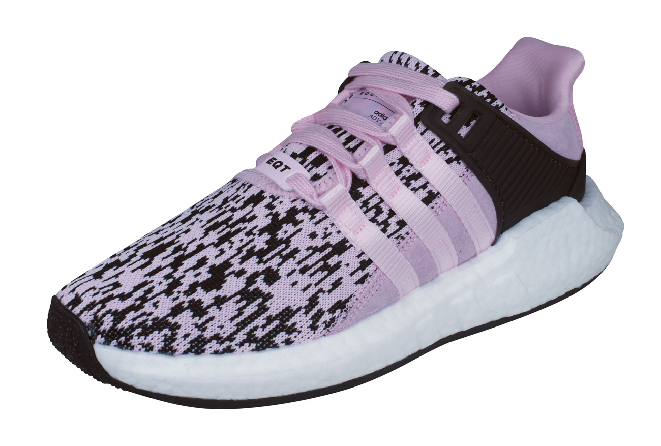 the best attitude 7a04c 93bf4 adidas Originals EQT Support 9317 Mens Trainers  Shoes - Pink and Black