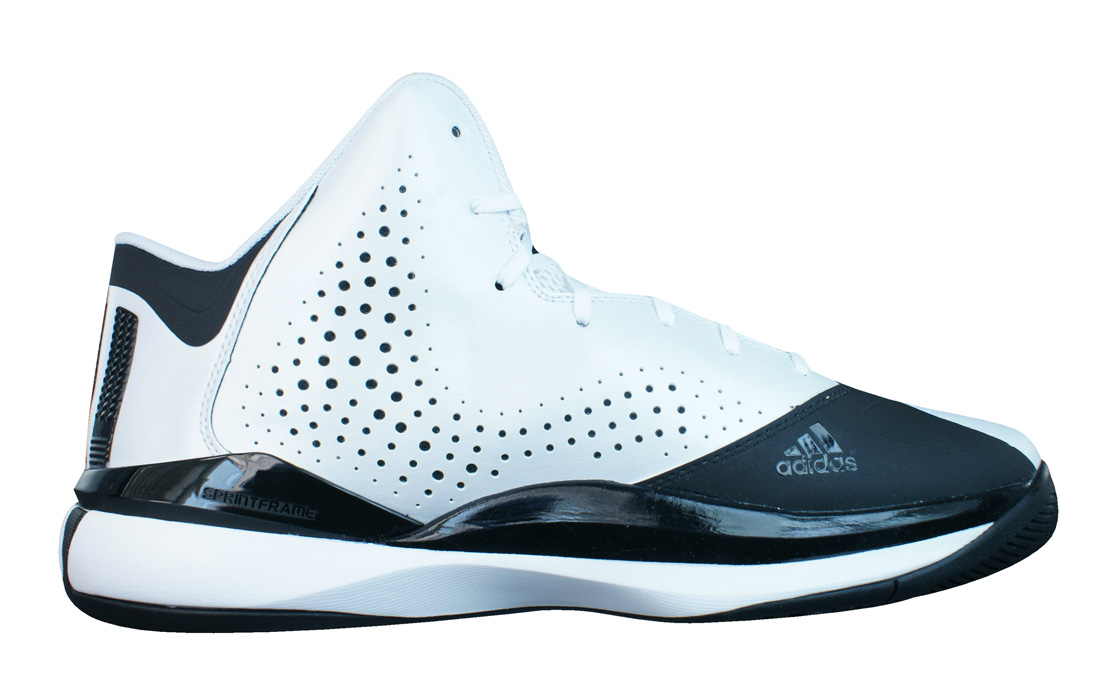 f8bed3899fc2 adidas D Rose 773 III Mens Basketball Trainers   Shoes - White at ...