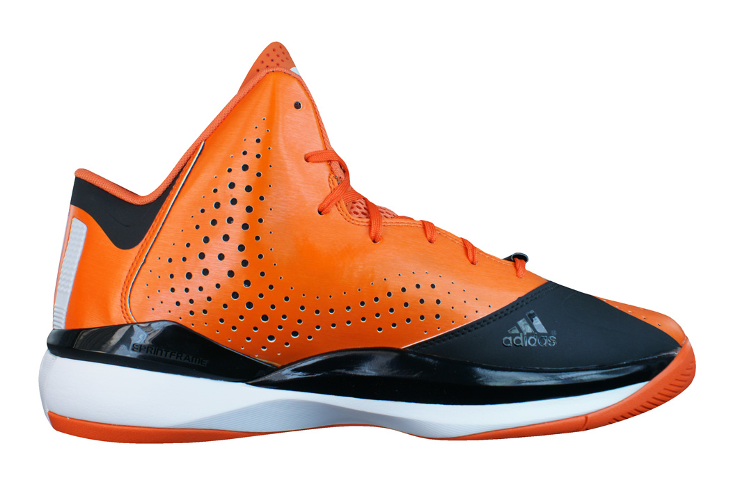 hot sale online 86697 f5cb0 adidas D Rose 773 III Mens Basketball Trainers  Shoes - Orange