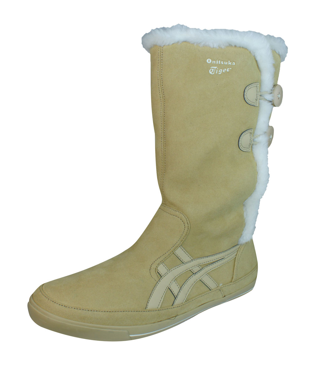 watch fe94b e8296 Onitsuka Tiger Sekka Crystal Womens Ankle Boots / Shoes - Beige