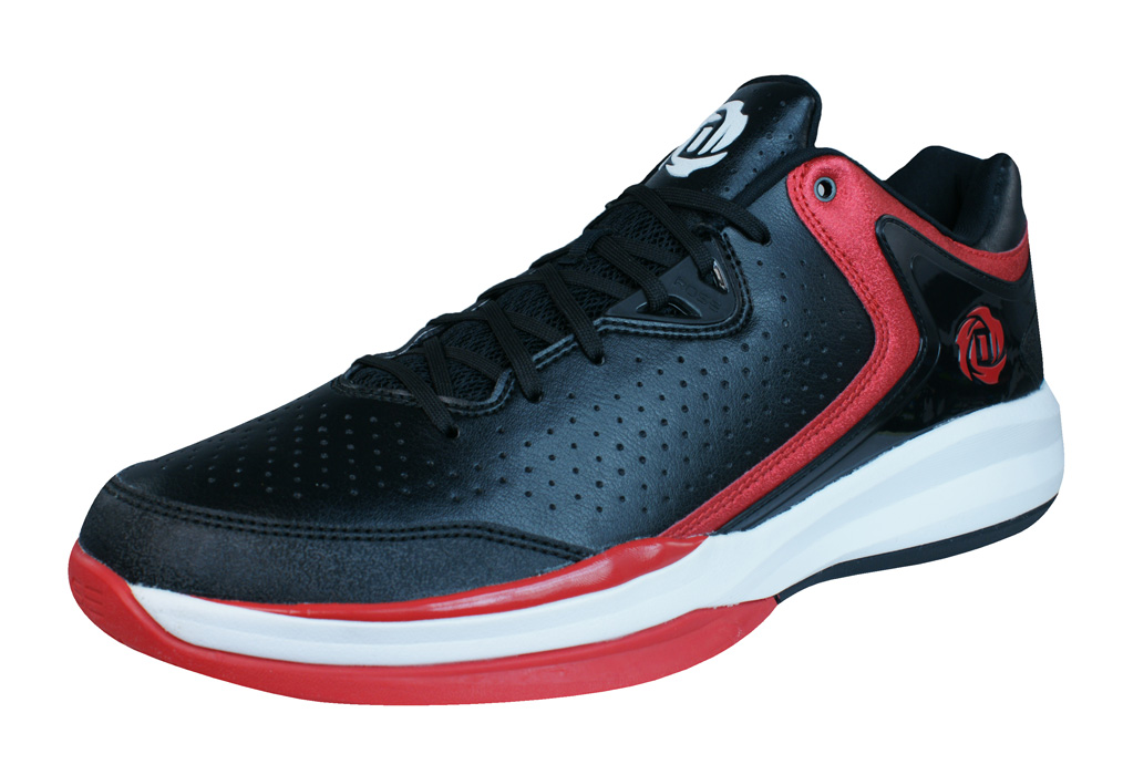 on sale cb2d3 391be adidas D Rose Englewood III Mens Basketball Trainers   Shoes - Black