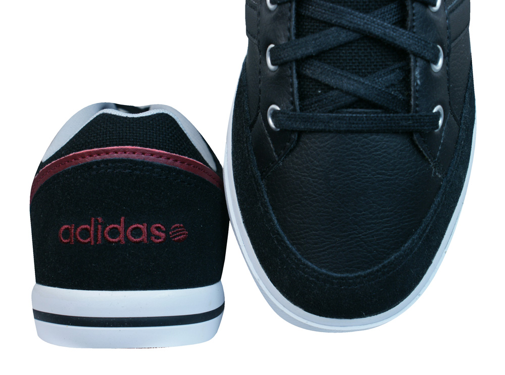 size 40 90639 8bfe3 Adidas Neo Black Leather adidas Neo Cacity Mens Leather Trainers  Shoes -  Black at .