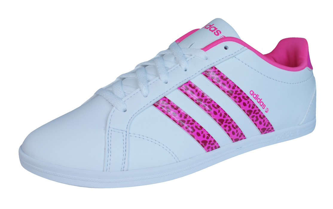 new product a13f0 e6f13 ... promo code for adidas neo qt coneo vs womens trainers shoes white acf5c  d63fd